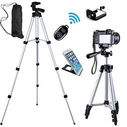 FOANT Aluminum Professional Lightweight Camera Tripod for iP