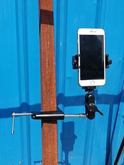Aluminum Smartphone Golf Cart Mount Holder l Car Window Moun