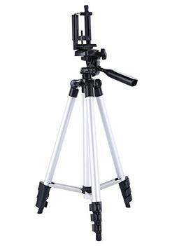 DIGIANT 50 Inch Aluminum Camera Phone Tripod+ Universal Trip