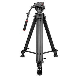 79.5-inch Aluminum Camera Video Tripod with 360-Degree Panor