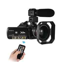 Digital Video Camera Camcorder,Andoer AC3 4K UHD 24MP DV Rec