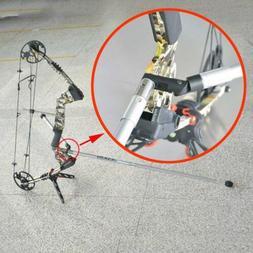 Archery Compound Bow Stabilizer Adjustable Single Side V Bar