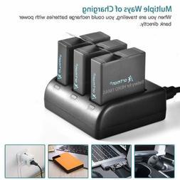 Artman GoPro Hero 5/6 1480mah Replacement Batteries  and 3-C