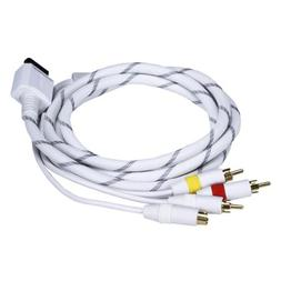 AV Cable w/ Composite /S-Video and Stereo Audio  for Wii & W