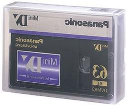 Panasonic AYDVM63PQ Professional Quality MiniDV Tape