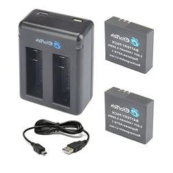 AZ16-1 EforTek Replacement Battery and Dual USB Charger for