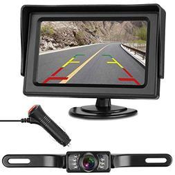 LeeKooLuu Backup Camera and Monitor Kit for Car/RV/Truck/Pic