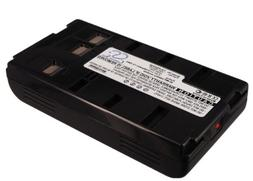 Battery for JVC GR-AXM210, 6V, 2100mAh, Mi-MH