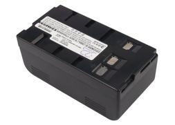 Power2tek 6.0V BATTERY Fits to Panasonic NV-VJ77, NV-S2, NV-