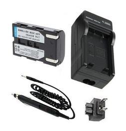 Battery + Charger for Samsung SB-LSM80 SB-LSM160 SB-LSM320 a