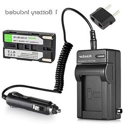 Kastar Battery and Charger for Samsung SB-L160 SB-L320 and S