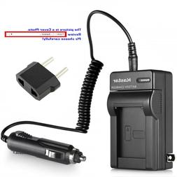 Kastar Battery AC Travel Charger for Pentax D-Li90 D-BC90 &