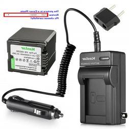 Kastar Battery AC Charger for Panasonic VW-VBG260 PV-GS85 PV