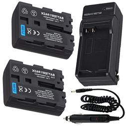 Battery  + Charger for Sony Cyber-shot DSC-F707, DSC-F717, D