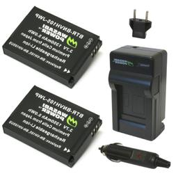 Wasabi Power Battery  and Charger for JVC BN-VH105 and JVC G