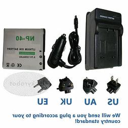 Battery + Charger for DXG DVH-5C3 DXG-566V HD DXG-125V DXG-5
