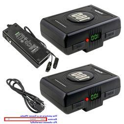 Kastar Battery Charger for Panasonic V Mount V Lock Professi