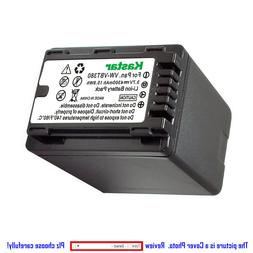 Kastar Battery LED Fast Charger for Panasonic VW-VBT380 & HC