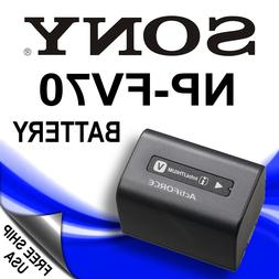 NEW Battery NP-FV70 for SONY Camcorder Handycam NP-FV30 NP-F