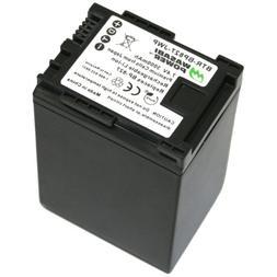 Wasabi Power Battery for Canon BP-827  and Canon VIXIA HF G1