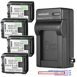 Kastar Battery Wall Charger for Canon BP-808 CG-800 Canon VI