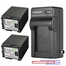 Kastar Battery Wall Charger for Canon BP-827 CG-800 & Canon