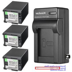 Kastar Battery Wall Charger for Canon BP-828 BP-820 & Canon