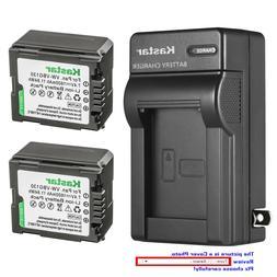 Kastar Battery Wall Charger for Panasonic VW-VBG130 HDC-SD9