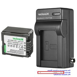 Kastar Battery Wall Charger for Panasonic VW-VBG130 VDR-D50