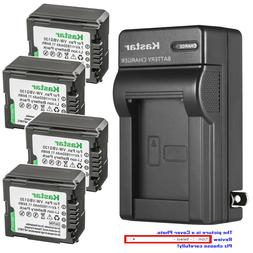 Kastar Battery Wall Charger for Panasonic VWVBG130 HDC-HS300
