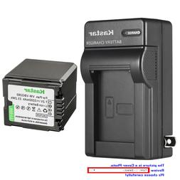 Kastar Battery Wall Charger for Panasonic VW-VBG260 SDR-H40