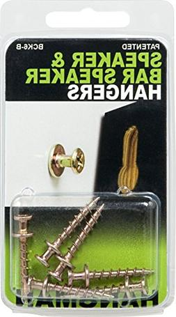Hangman Products Inc. BCK6-B Speaker Hanging Screws - 6 Pack
