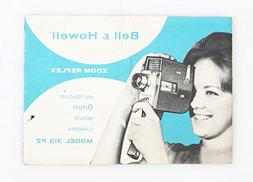 BELL AND HOWELL AUTOLOAD 8MM MOVIE CAMERA 315 PZ MANUAL