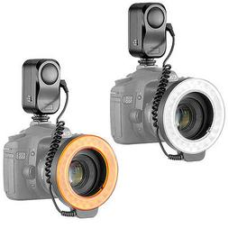 Bestlight 48 LED Macro Ring Light With 6 Adaptors Rings for