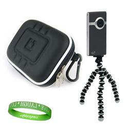 New Black UltraHD Video Camera Case for the Newest Model Fli