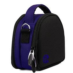 blue handle hangbag case