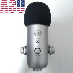 Blue Yeti Microphone Widescreen Pop Filt
