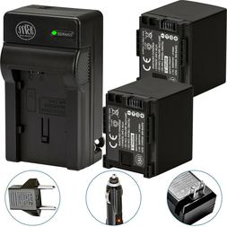 BM 2 BP-820 Batteries & Charger for Canon Vixia GX10 HF G40