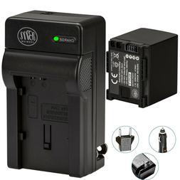 BM BP-820 Battery & Charger for Canon Vixia GX10, HF G40, HF