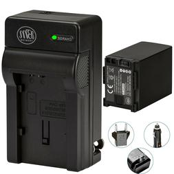 BM BP-828 Battery & Charger for Canon Vixia GX10, HF G40, HF