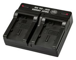 BM Dual Battery Charger for Canon Vixia GX10, HF G40, HF G20