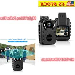 Body Worn Camera 4K HD 1080P 32GB Mini Video Camcorder Perso