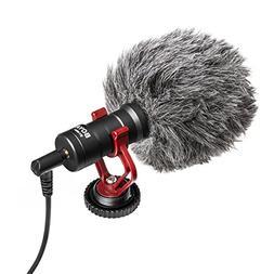 BOYA BY-MM1 Universal Cardioid Shotgun Microphone Mini Recor