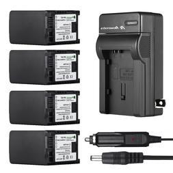 BP-807 BP-827 Battery & Charger For Canon VIXIA HF XA10 G10