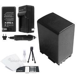 BP-828 Battery + Charger + BONUS for Canon HF-M40 HF-M41 HF-