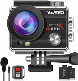 brand new Campark ACT74 16MP 4K Waterproof Action Camera com