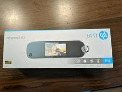 Car camcorder HP F770 plus rear camera recording