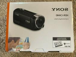 Brand New Sony HD Video Recording HDRCX440 Handycam Camcorde