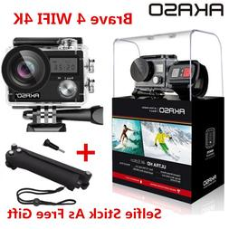 AKASO Brave 4 WIFI <font><b>4K</b></font> Outdoor Action Cam