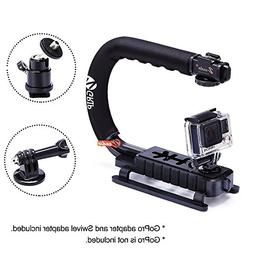 Zeadio Handheld GoPro Stabilizer Handle Grip + 360 Degree Ro